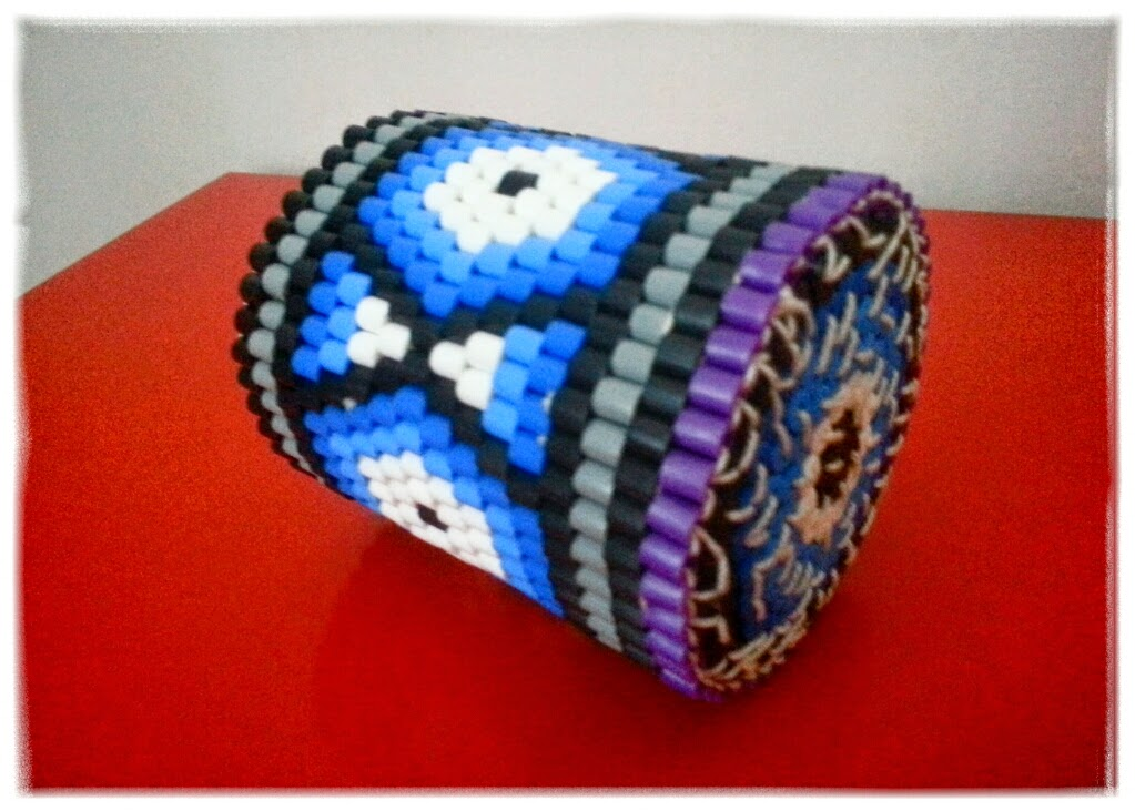 pyssla indianpärlor nabbi hama plastpärlor mönster