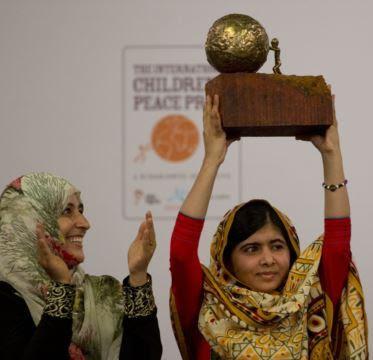 Malala Yousafzai Terima Nobel Perdamaian Anak-anak 2013