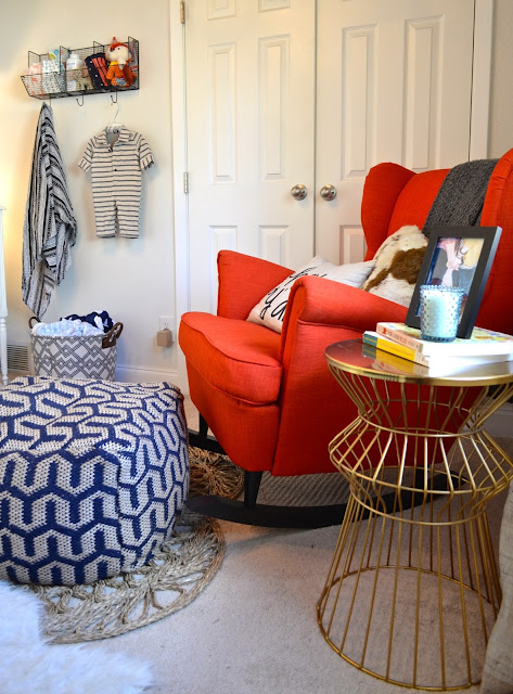 ikea strandmon rocking chair hack and texan details