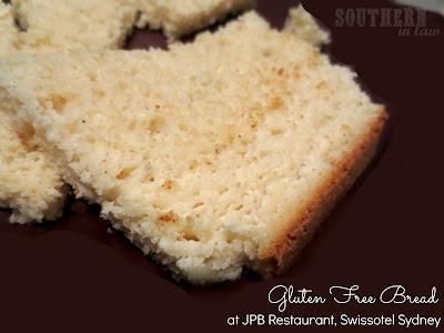 JPB Restaurant Review Swissotel Sydney - Housemade Gluten Free Bread