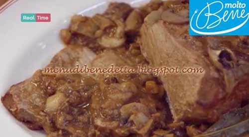 Arrosto funghi e castagne ricetta Parodi per Molto Bene