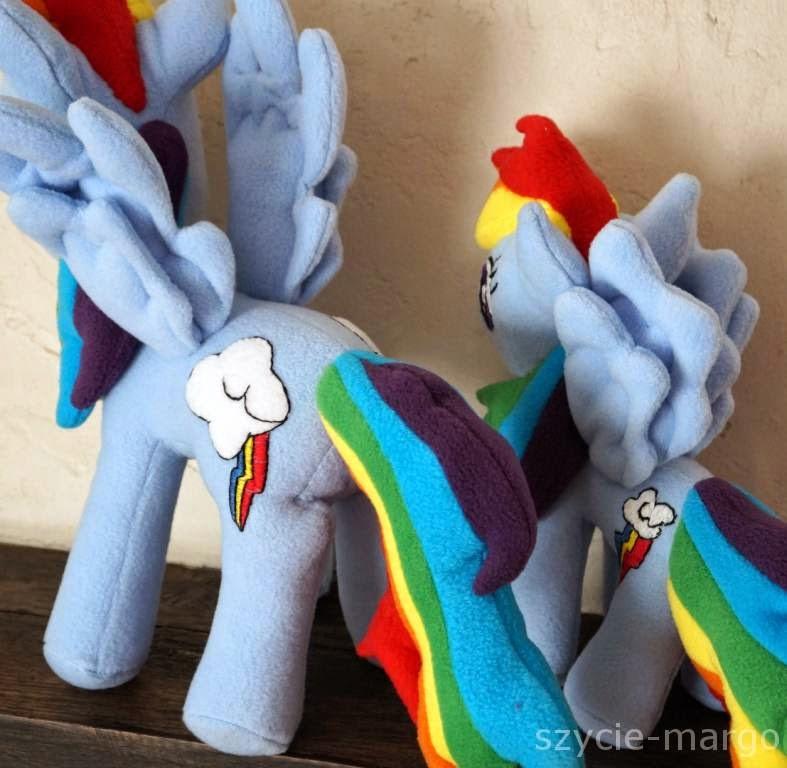rainbow dash plush , pony ,my little pony ,kucyk