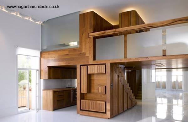 Arquitectura de casas reforma de apartamento antiguo en for Decoracion techos madera interior