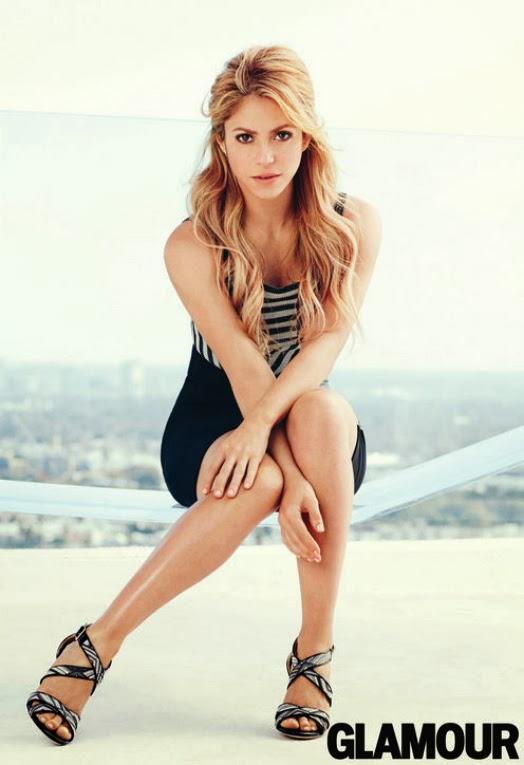Shakira portada de la revista Glamour