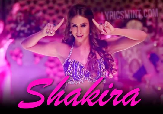 Shakira from Welcome To Karachi