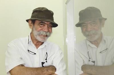 Tomas Musset amigo de Jesús Soto y Curador. Fotografía Gladys Calzadilla