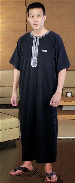 Model Baju Gamis Pria 2018 Terbaru 2018