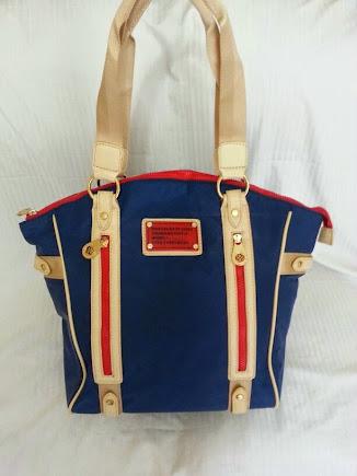DIVAS BLUE-BEIGE-RED