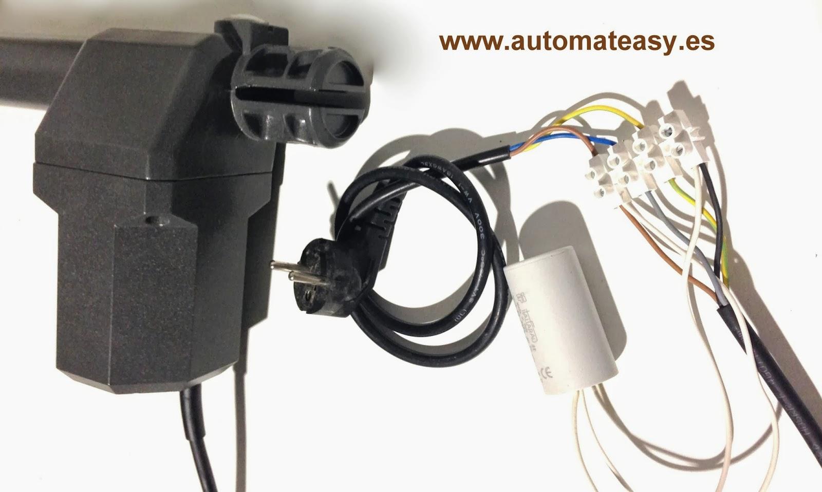 Noticias automateasy como motorizar puertas batiente de 2 for Como instalar un motor de puerta de garaje