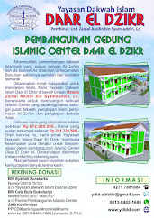 Donasi pembangunan islamic Center
