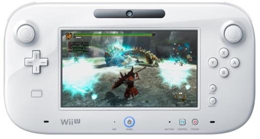 Playing Monster Hunter 3 Ultimate on Wii U GamePad