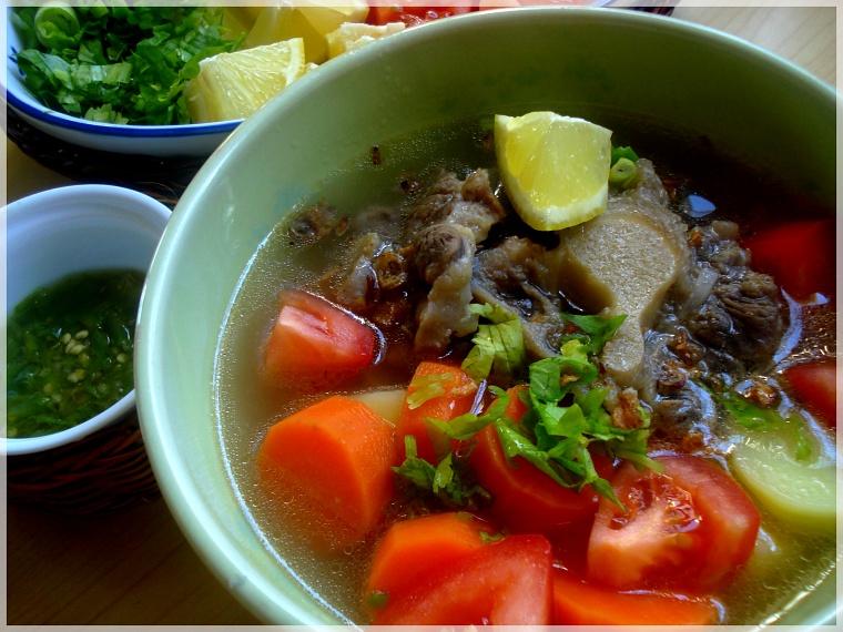 Menu Masakan Nusantara: Sop Buntut