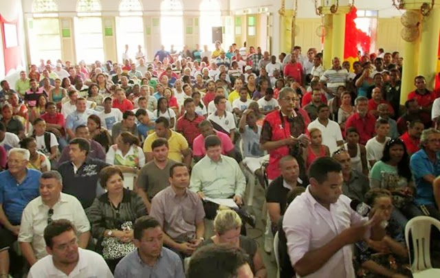Público durante evento (foto: Codó notícias)