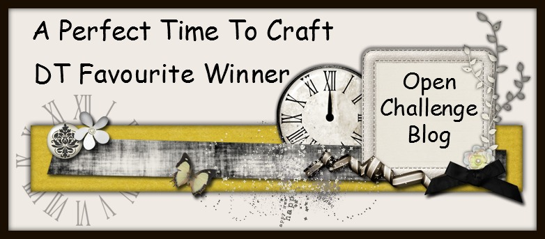DT Favorite at A Perfect Time To Craft Challenge Blog