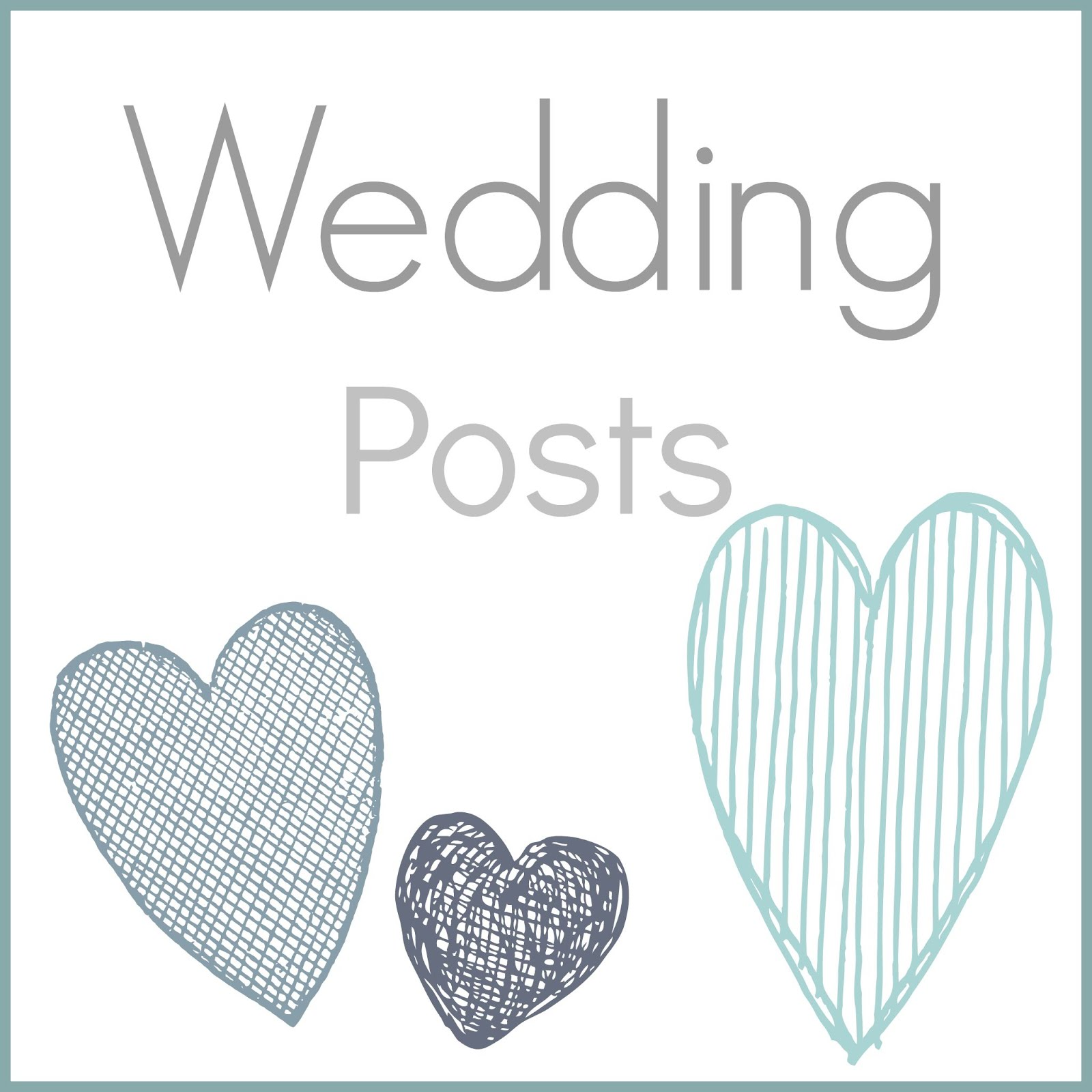 Wedding Posts