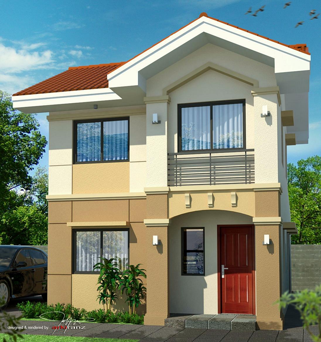Fachadas de casas chicas for Modelos casas modernas