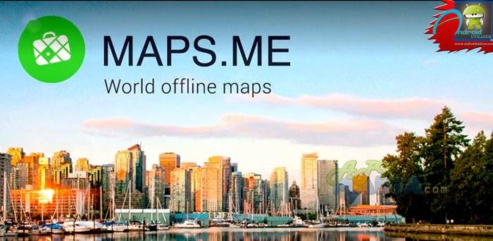 MAPS.ME Pro- offline maps 4.0.2 APK