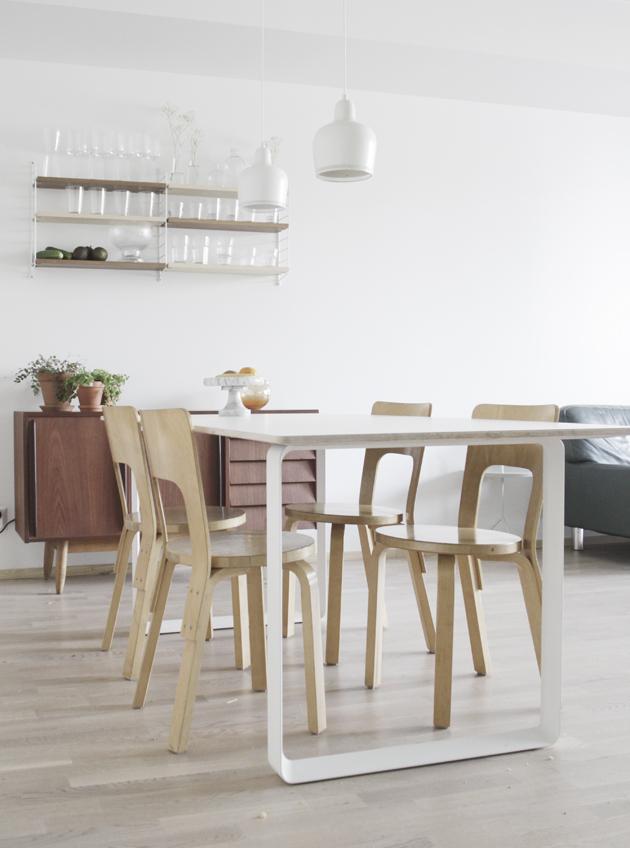 d a d a a  Muutos Muutoon aka uusi keittiön pöytä