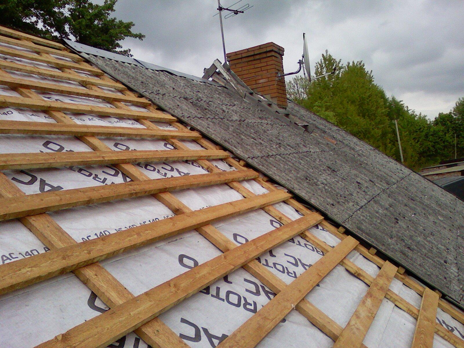 Как перекрыть крышу профнастилом после шифера своими