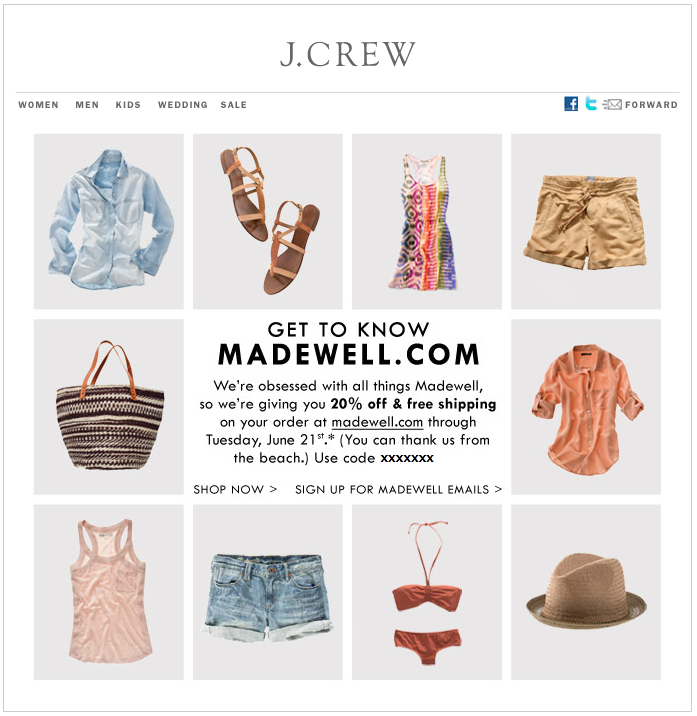 Mar 01,  · truecup9v3.ga sent an email this morning with a *unique promo code* that is good for 20% off and free shipping (no min) on any Madewell order. This offer expires March 8, So double check your email account to see if you got this offer from truecup9v3.ga!Author: truecup9v3.ga Aficionada.