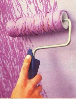 Add Cool Texture To Walls When Painting