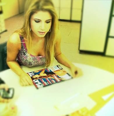 Capa Playboy de novembro 2011 - Cacau