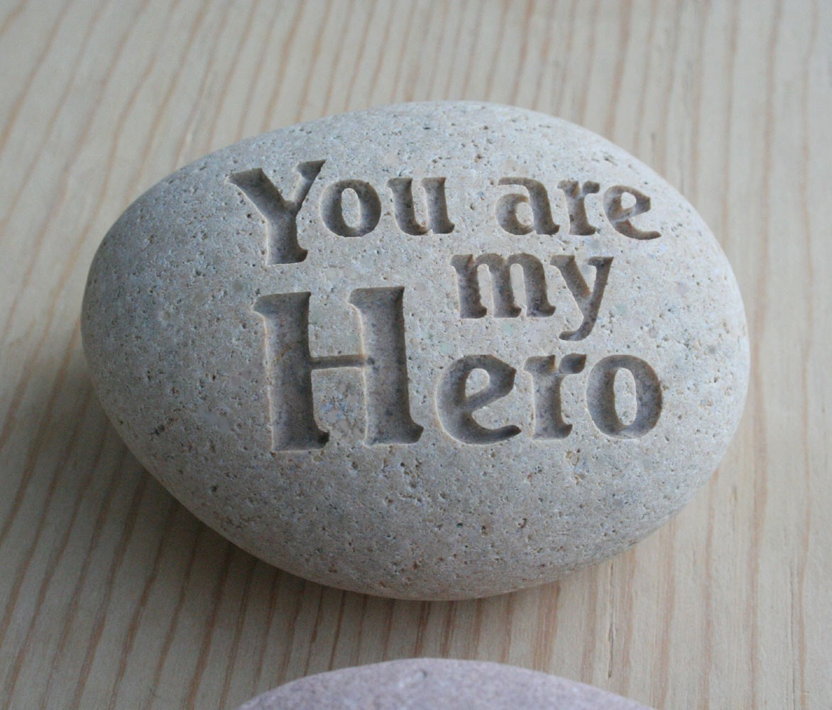 he was my hero Writing to your hero may make all the difference in the world below are just some samples of the many hero letters we received the first few are responses about what happened after they wrote to their hero my hero is my husband of twenty-three years.