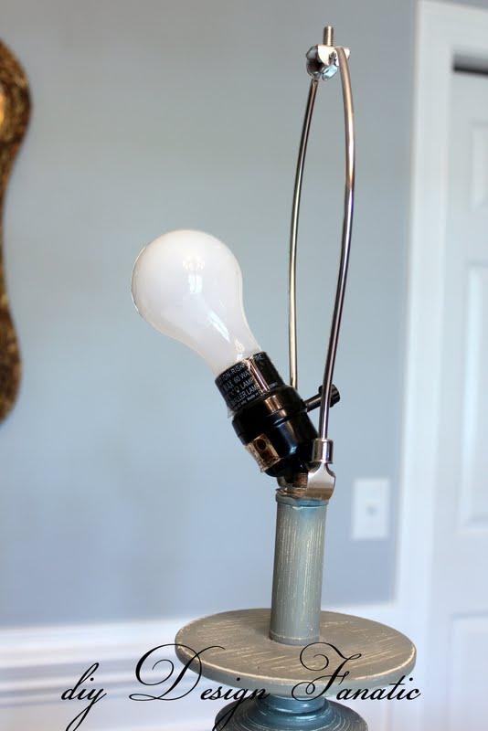 diy Design Fanatic: Fix It Friday - How To Fix A Broken Lamp