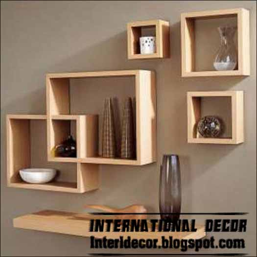 Modern Wall Shelves Designs | Simple House Design Ideas