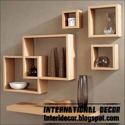 Modern Wall Shelves Designs - Wall Shelves 2013 - International decor