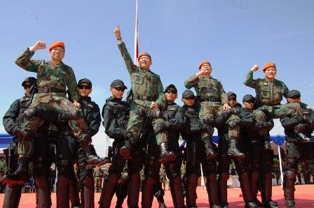 Panglima TNI Jadi Warga Kehormatan Korpaskhas AU