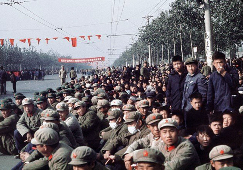 the representation of the 60s cultural revolution through photography