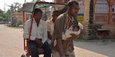 Sad Story of  Bablu Jatav and his baby
