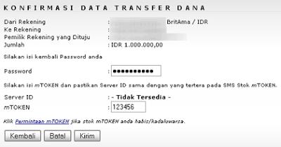 Cara Mentransfer Uang Melalui Internet Banking BRI 4 Panduan Online Banking