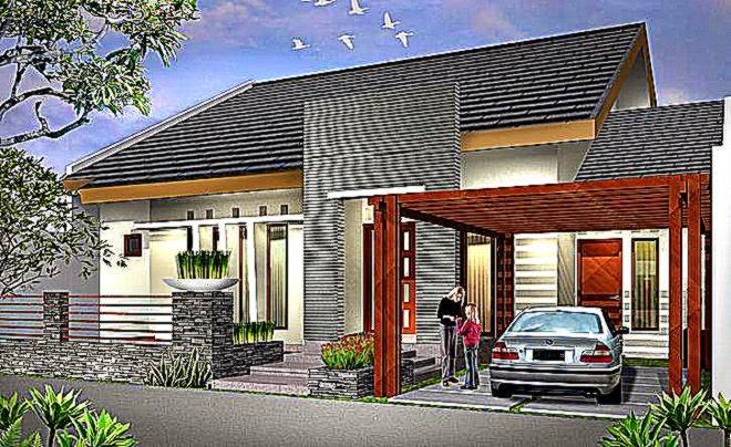Model Bentuk Atap Rumah Minimalis Terbaru 2015  Lensarumah