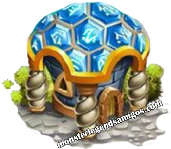 imagen del edificio de runas de monster legends