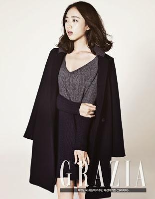 Kim Min Jung - Grazia Magazine November Issue 2013
