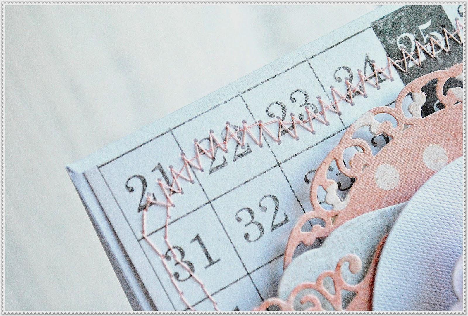 kartka urodzinowa z babczką scrapbooking
