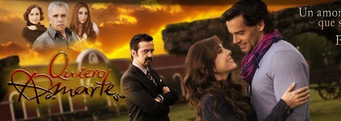 ... telenovelas favoritas el dia de hoy te traemos quiero amarte capitulo