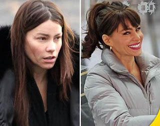 Sofia Vergara Without Makeup Photo-Pics