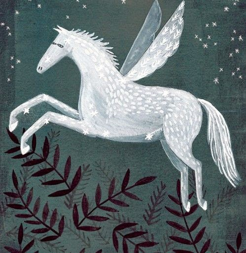 Pegasus Art Print - Bonbi Forest - 25% Off Easter Sale