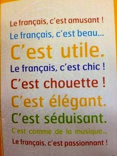 Ici Julia. Bienvenus en cours de français.