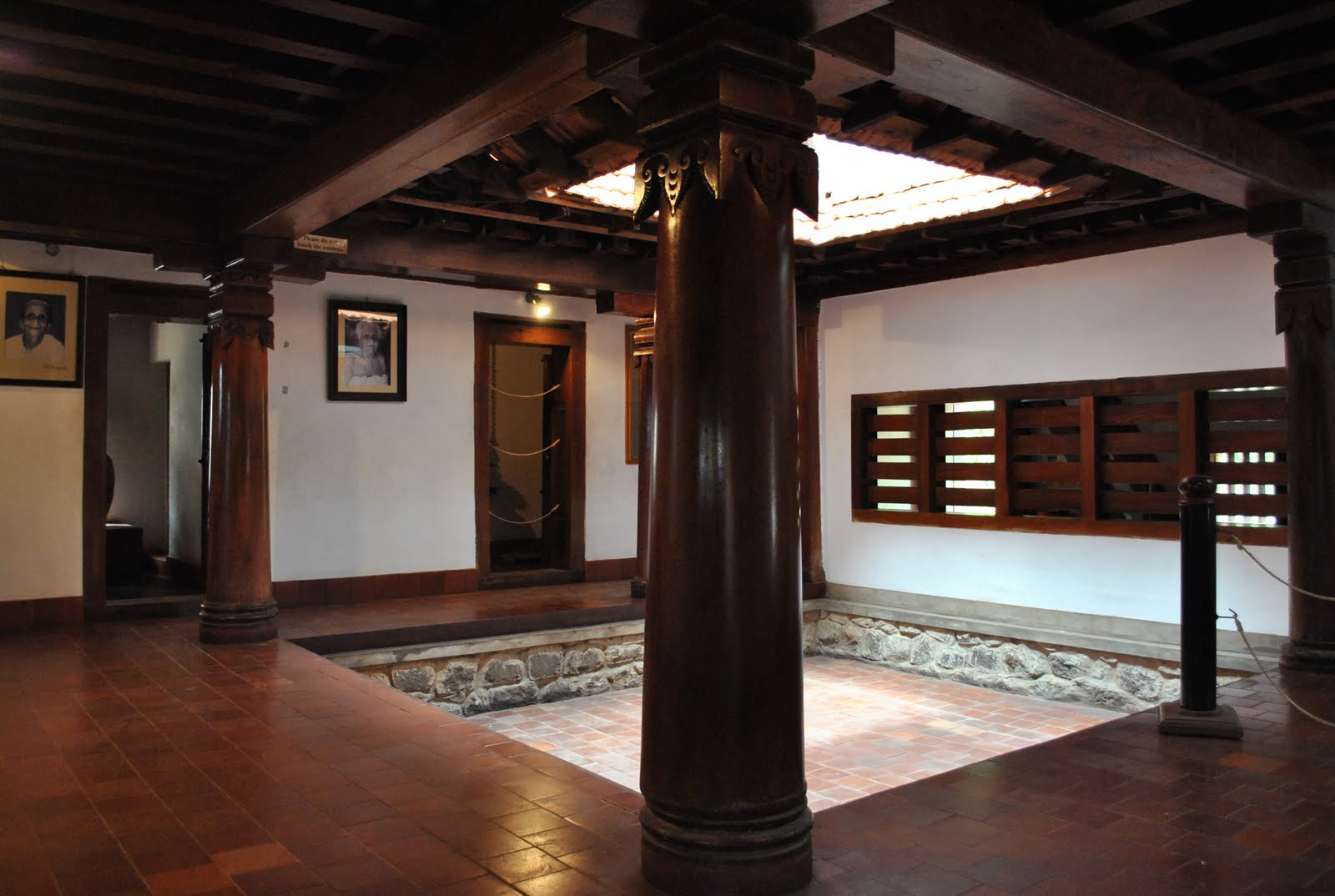 A visit to dakshinachitra shadows galore for Traditional house designs in tamilnadu