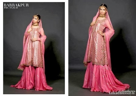 Fancy Bridal Dresses Sharara