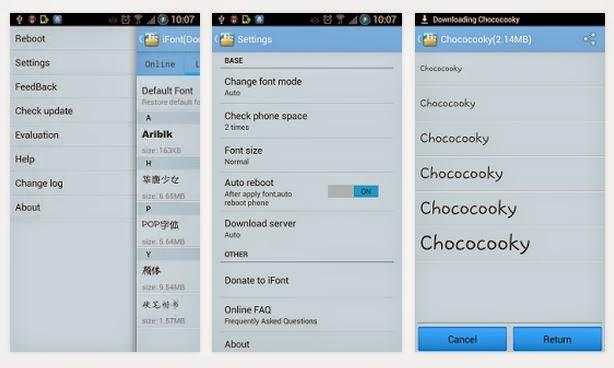 iFont Donate v4.2 APK ( Android Yazı Tipi )