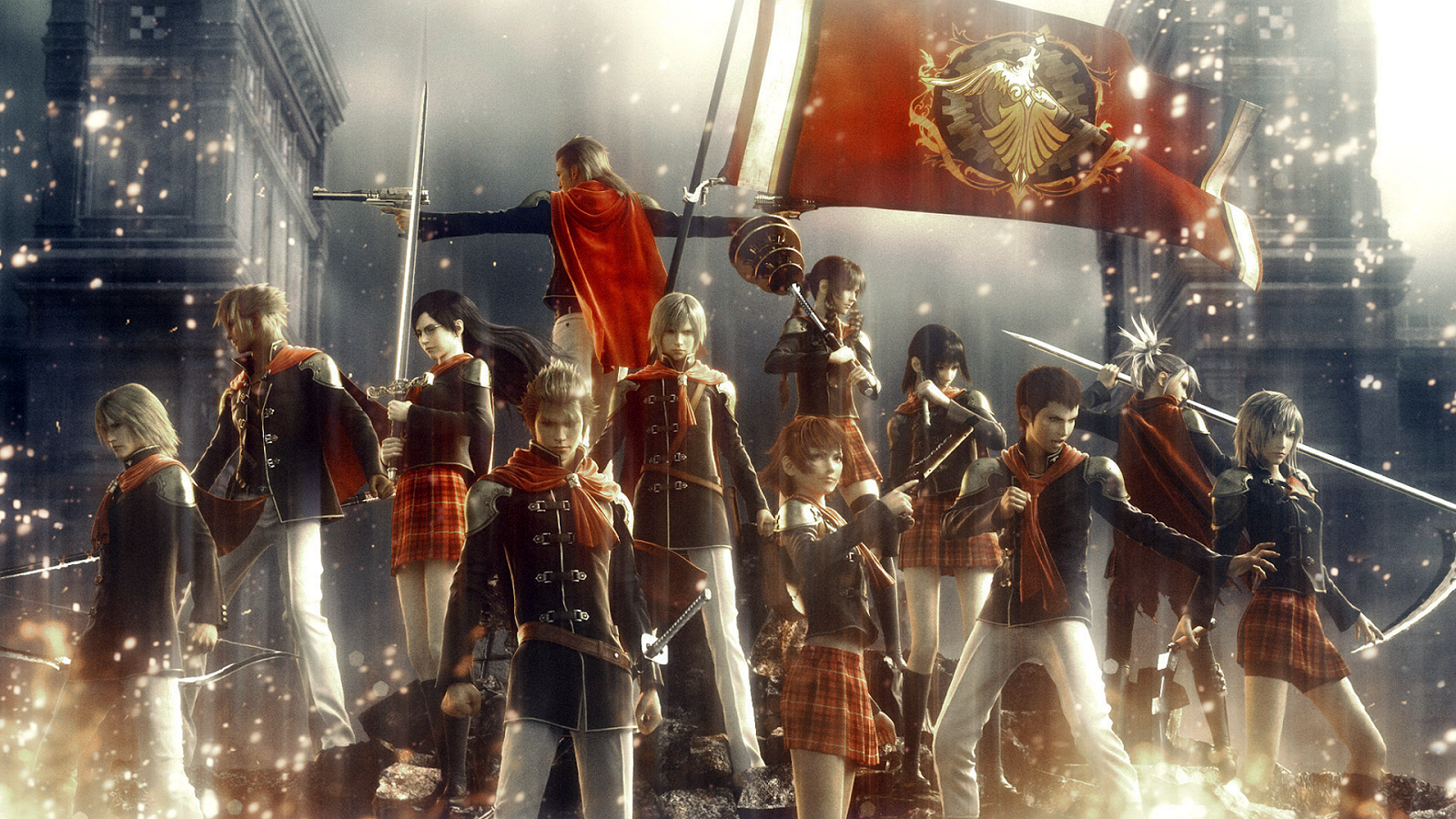 Hasil gambar untuk Final Fantasy Type-0 [English Patched Full]
