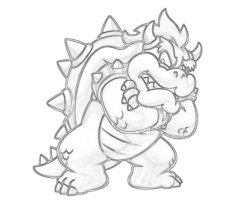 Bowser Jr Coloring Pages
