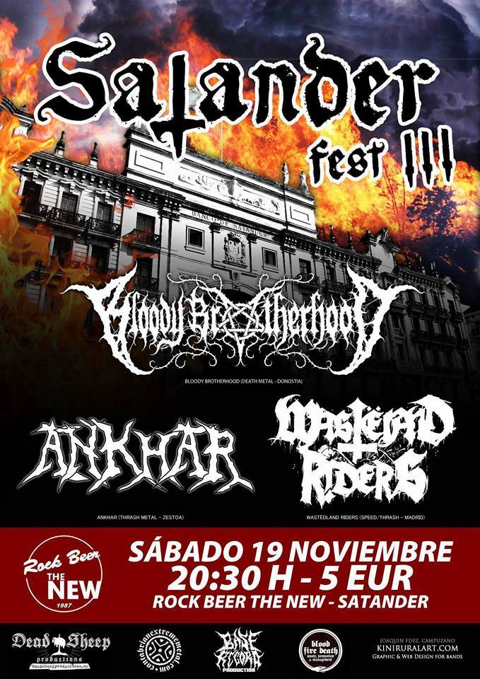 Ruido noise satander fest iii rock beer the new santander for Sala hollander