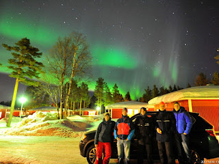 St. Patrick's Day Aurora in Sweden