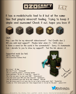 New OzoCraft Texture Pack 1.7.2 Minecraft 1.7.2